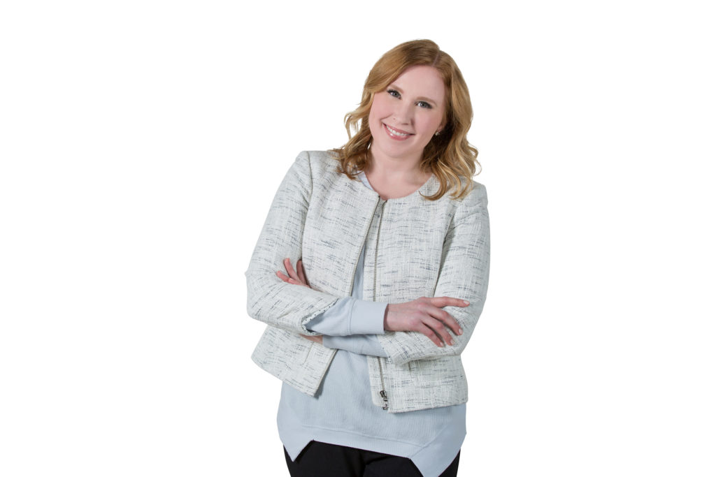 Marketing Unicorn Carly J. Cais, website headshot